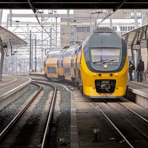 Trein op Utrecht Centraal | Foto door: Rob Dammers
