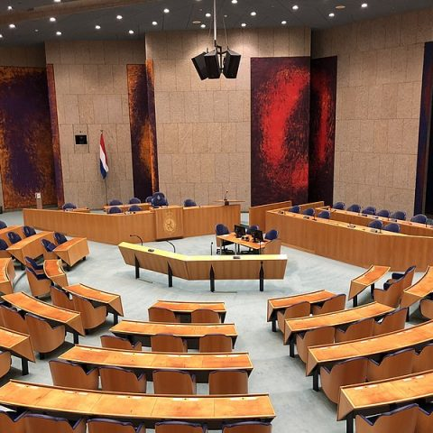 Tweede Kamer. Bron: Wikipedia, Husky, CC-BY-4.0