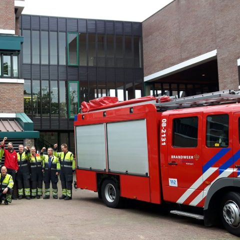 Actie brandweer