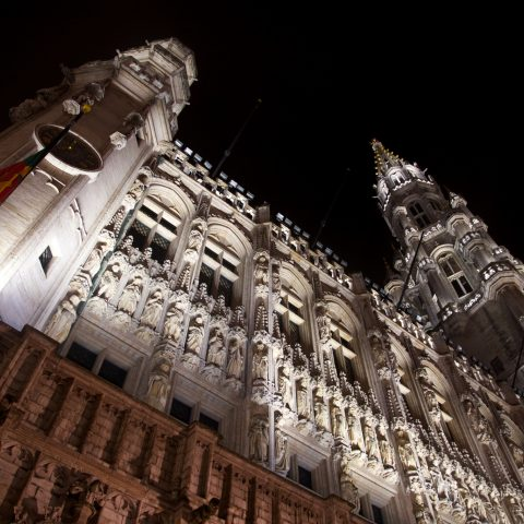Brussels stadhuis by Tom Parnell