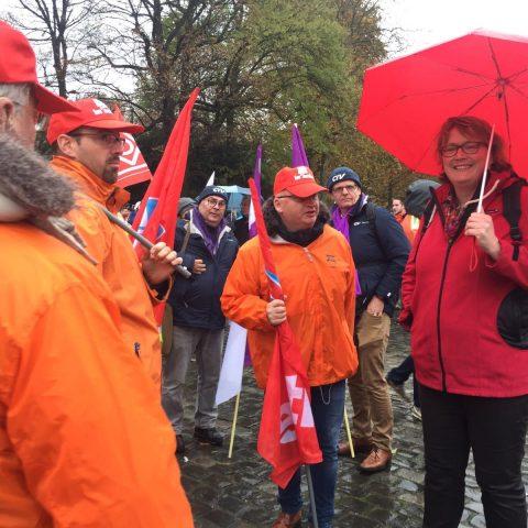 SP steunt staalwerkers in actie tegen Chinese staaldump