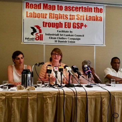GSP+ persconferentie Sri Lanka