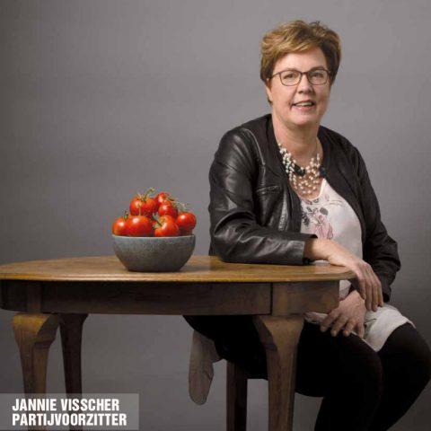 Tribune januari 2020: Jannie Visscher Partijvoorzitter