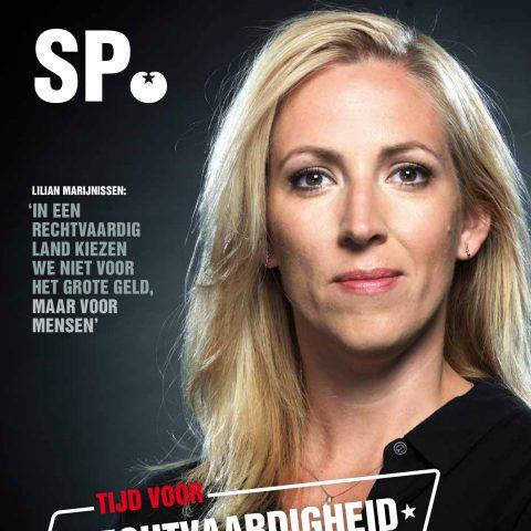 Voorpagina ZO-krant najaar 2018 Lilian Marijnissen