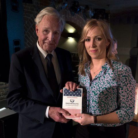 Lilian Marijnissen en Jan Terlouw