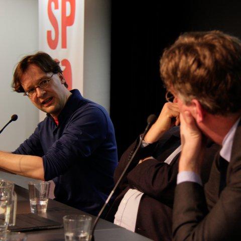 De discussieavond ROOD (foto: SP | Sander van Oorspronk)