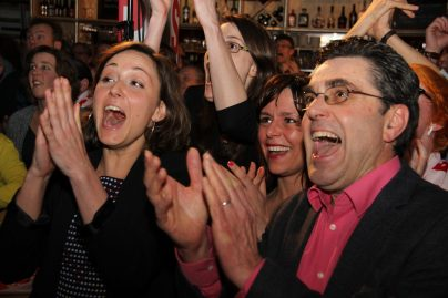Uitslagenavond gemeenteraadsverkiezingen 2014
