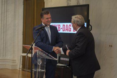Emile Roemer en Michiel van Straalen op de SP MKB-dag