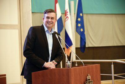 Emile Roemer op bijeenkomst 25 jaar na verdrag Maastricht