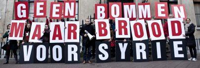 Geen bommen maar brood voor Syrie