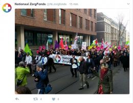 Tweet Nationaal ZorgFonds