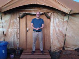 Jasper van Dijk in Mali