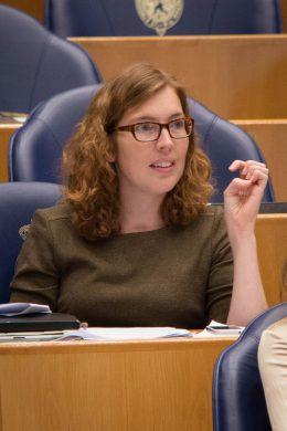 SP-Kamerlid Tjitske Siderius bij de Algemene Beschouwingen 2013 (foto: Sander van Oorspronk)